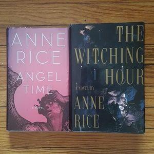 2 x Anne Rice hard cover bundle 2 books